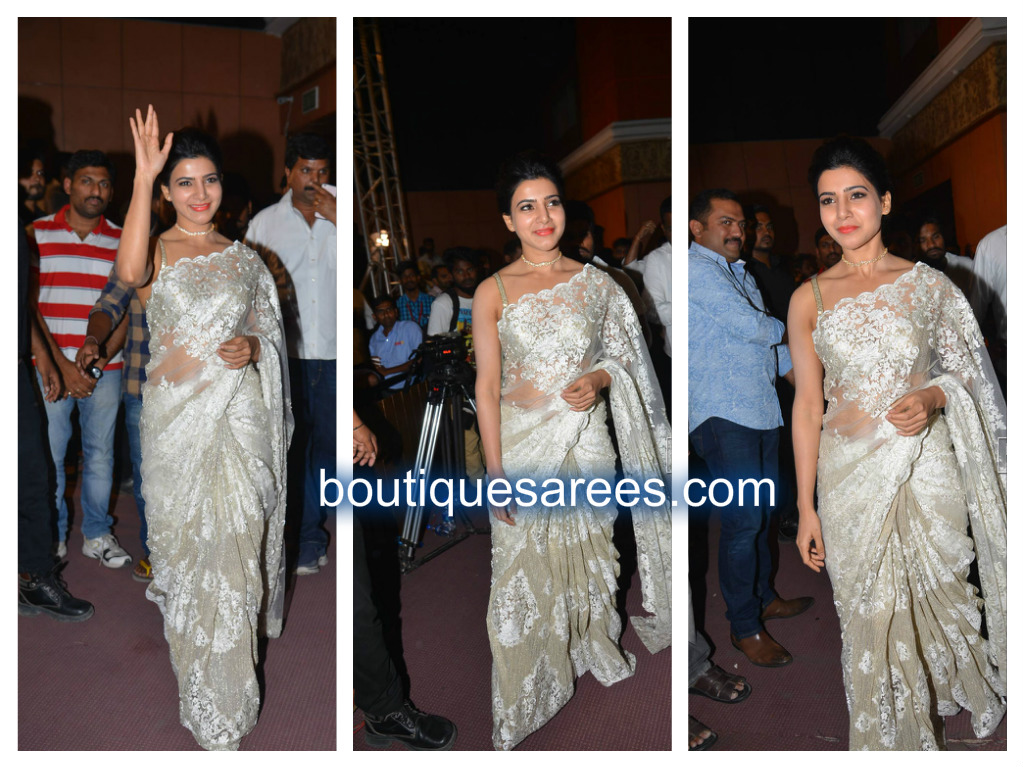 samantha in rabani and rakha saree