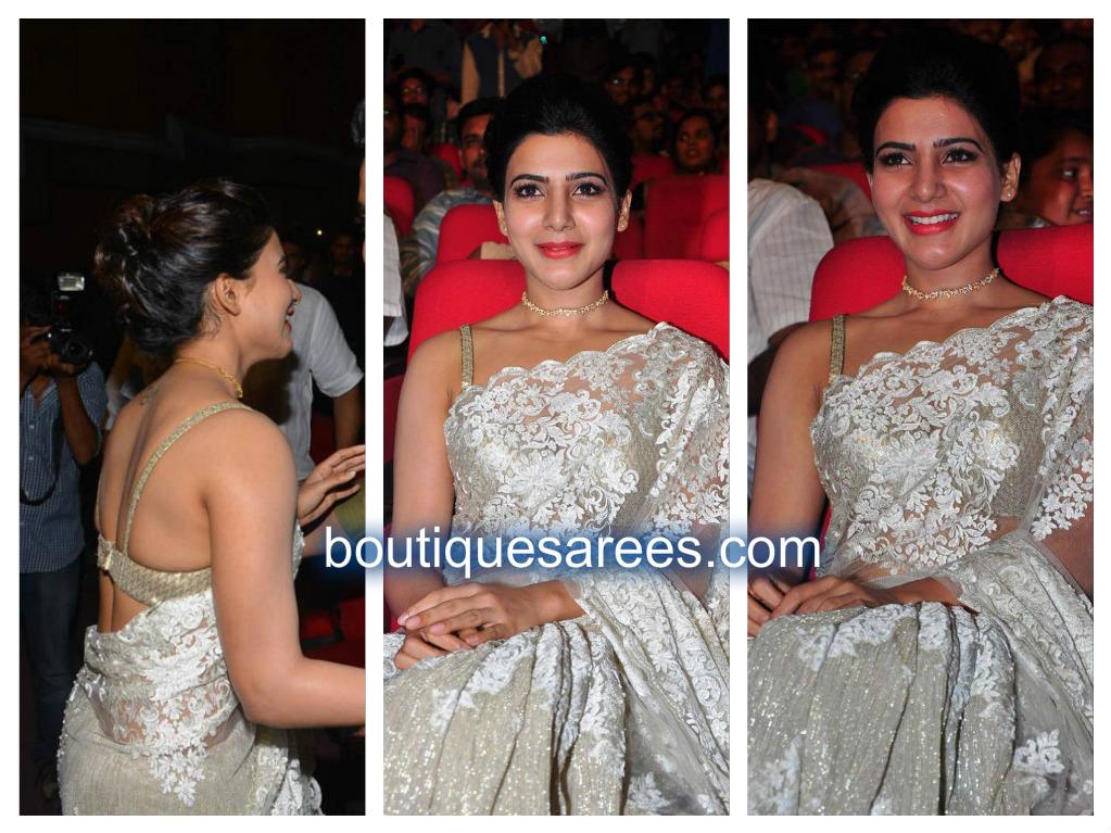samantha in rabani and rakha sari