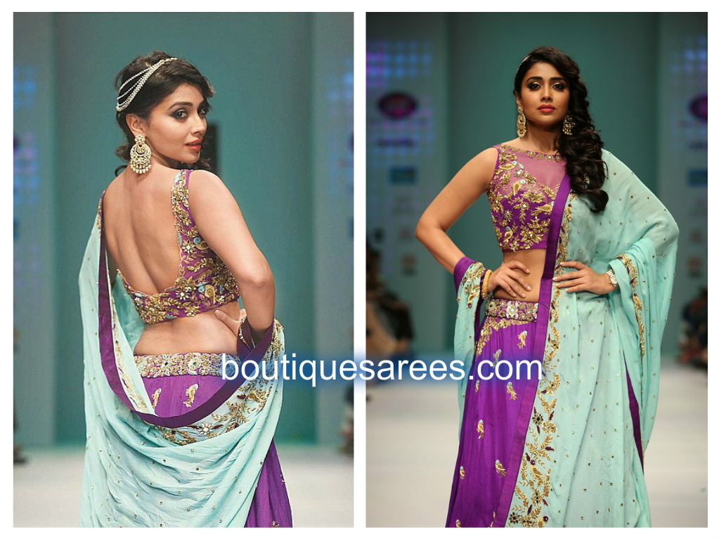 shriya in archita lehenga