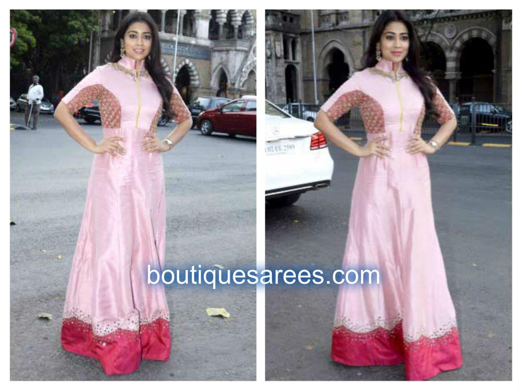 shriya in pink salwar