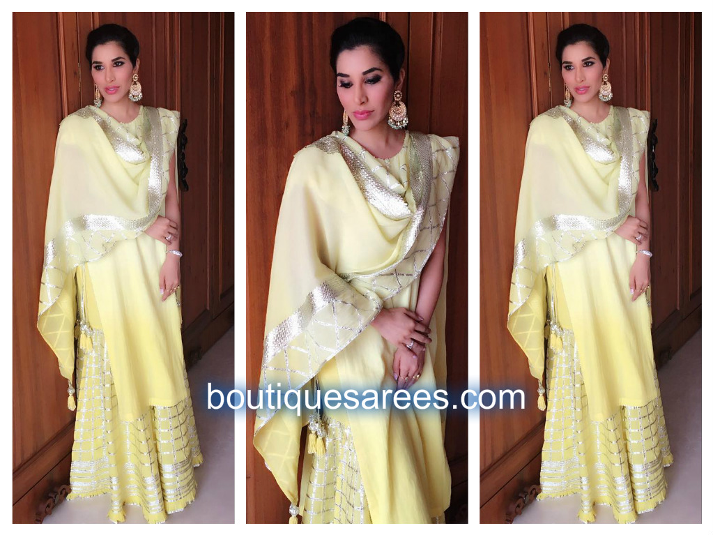 sophie choudry in sukriti and aakriti