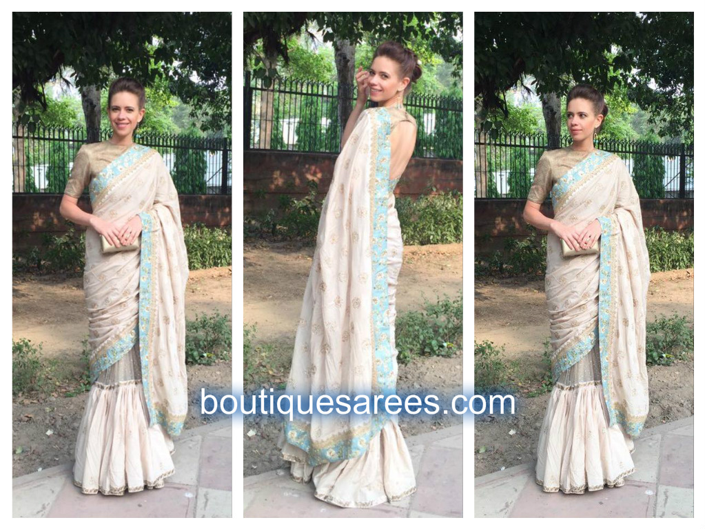 kalki in sabyasachi saree