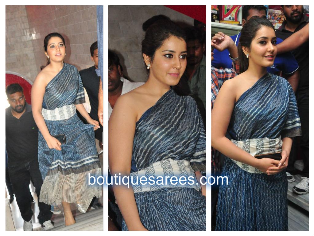 raashi in urvashi kaur dress