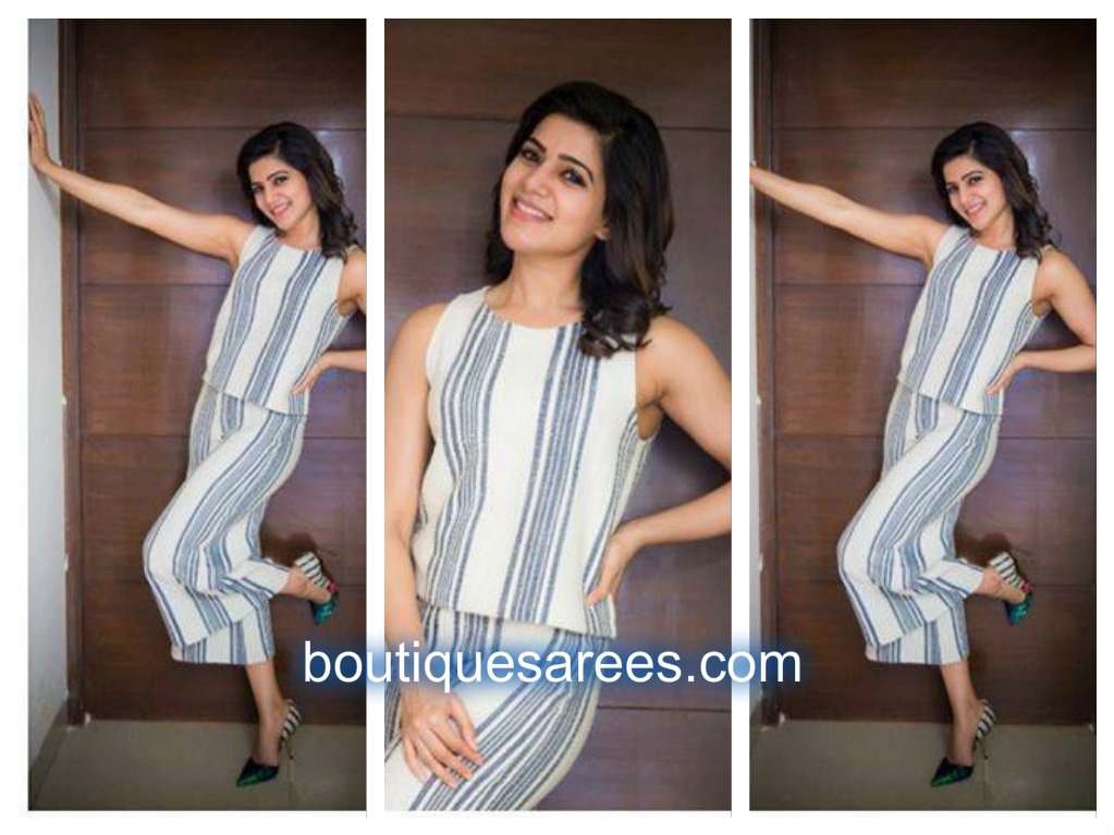 samantha in mango dress