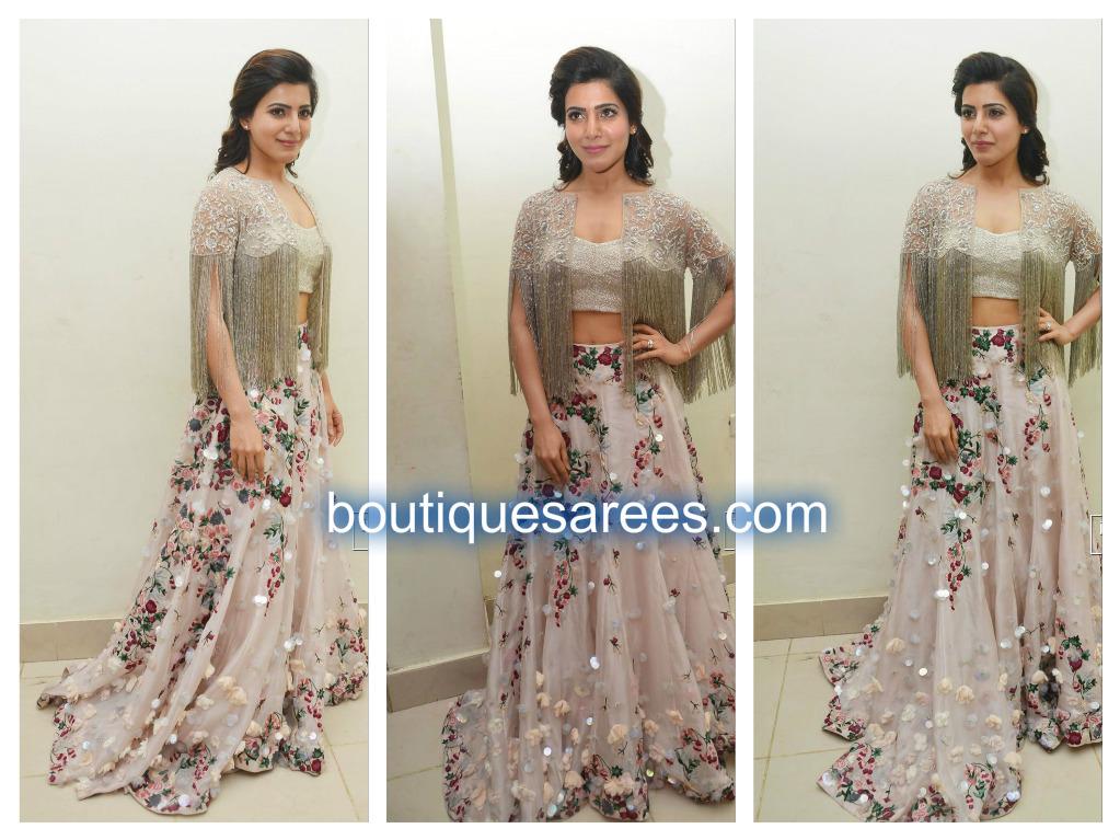 samantha in shriya som dress