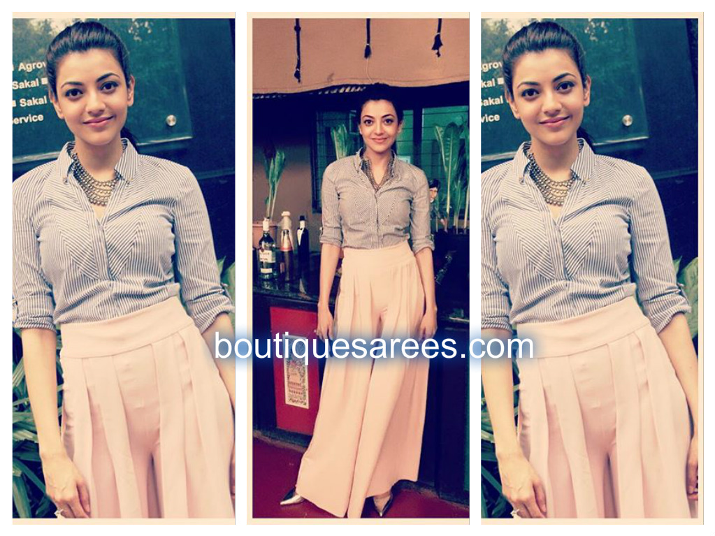 kajal in zara
