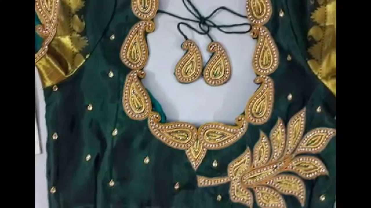 Simple Blouse Neck Designs For Silk Sarees Boutiquesarees Com