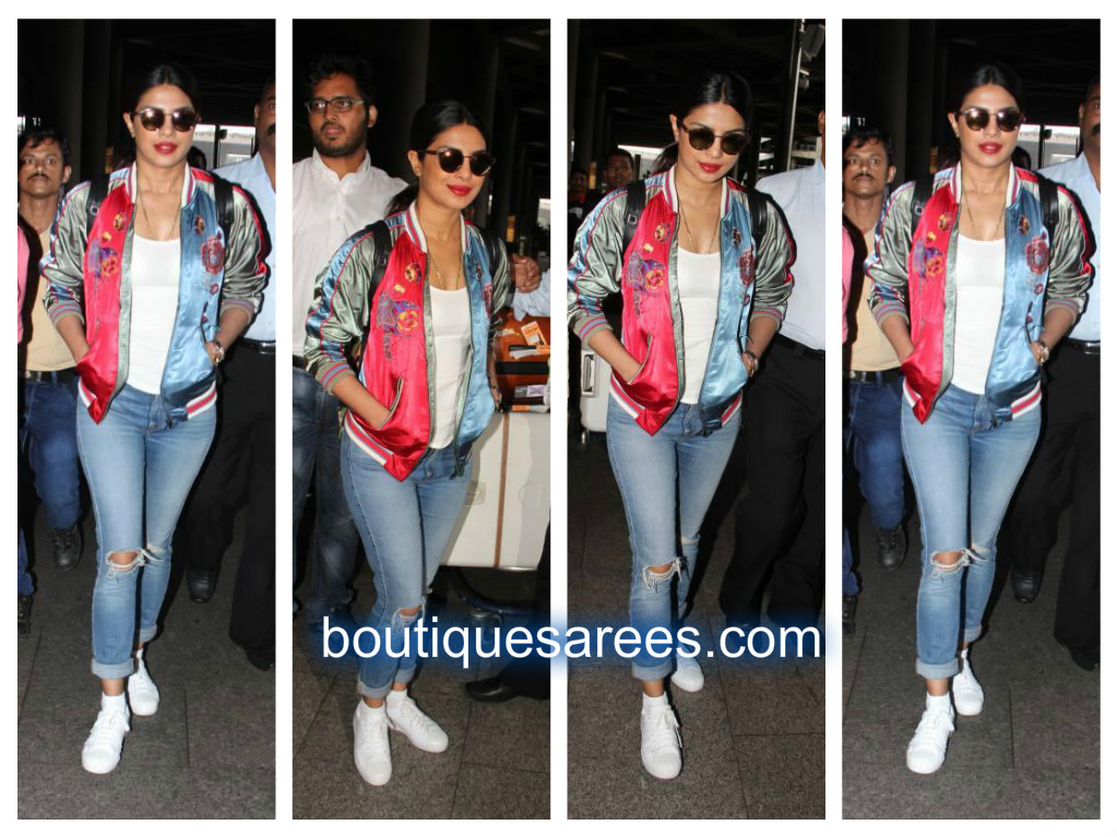 priyanka air port look