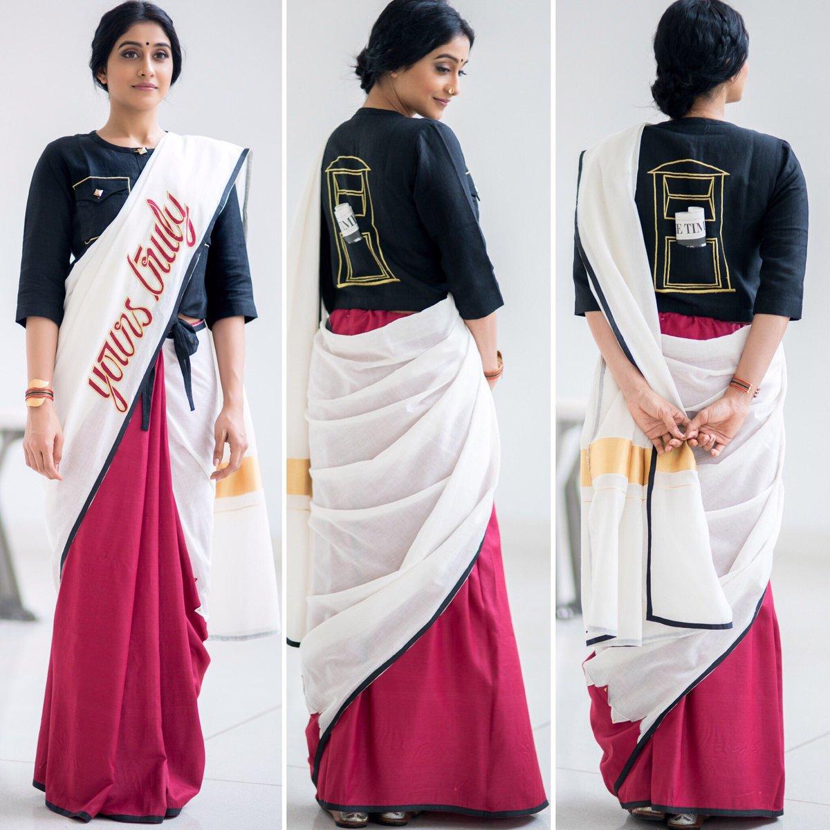 regina in rouka sari