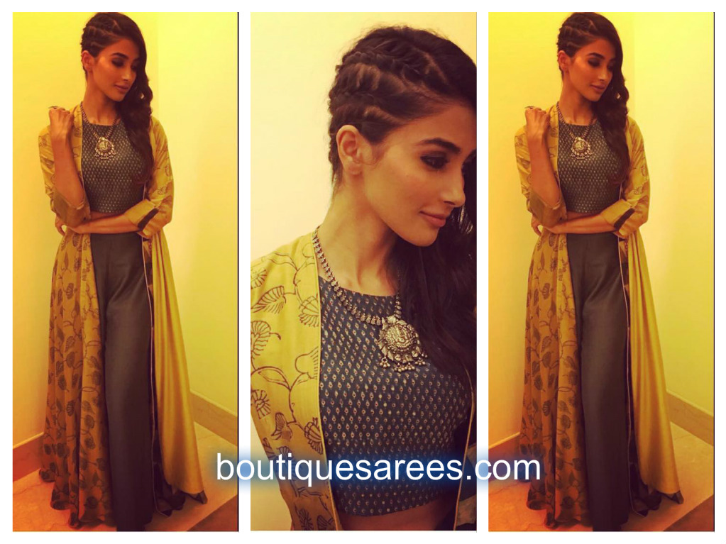 pooja hegde in anushree reddy