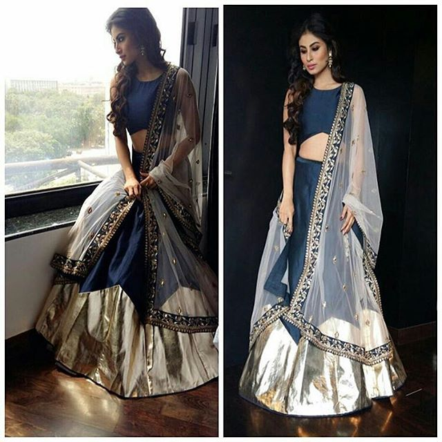 Mouni Roy in payal singhal