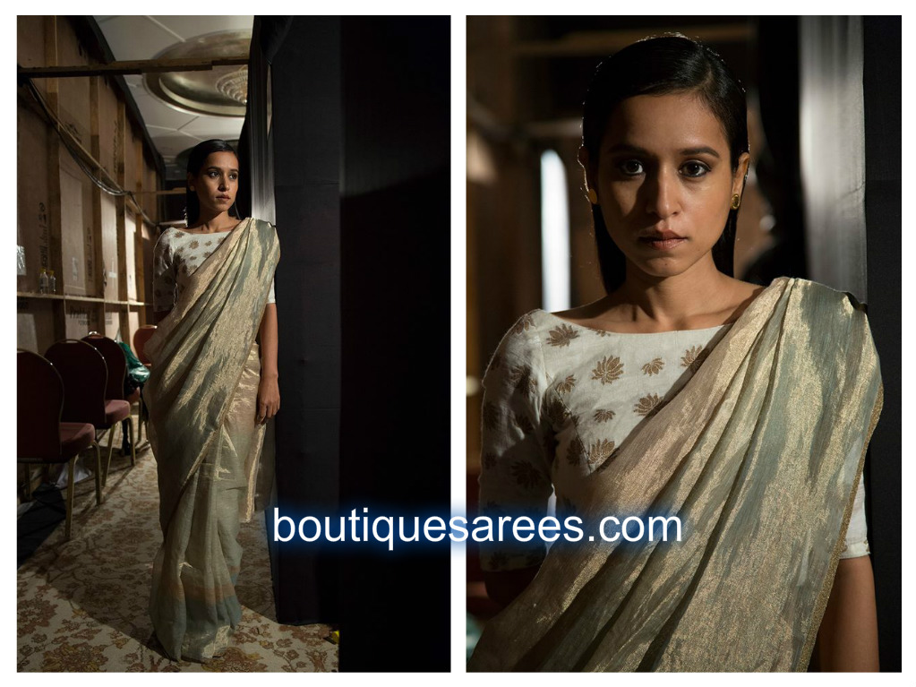 Tillotama Shome in saree