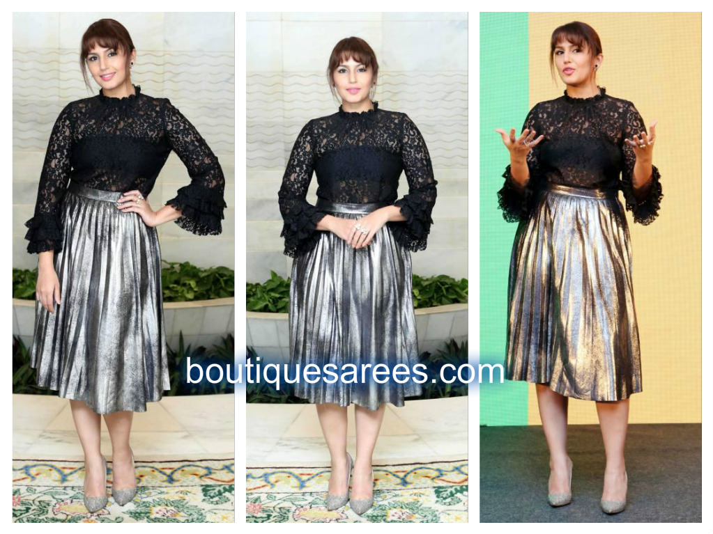 huma-qureshi-in-zaar-skirt