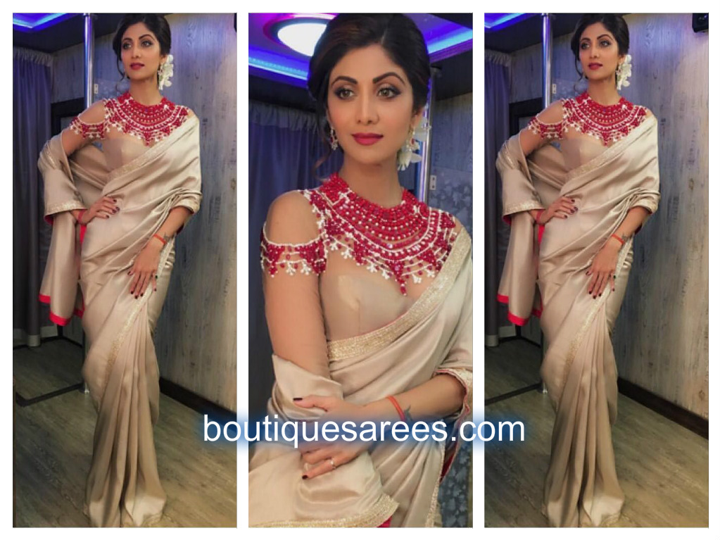 shilpa-shetty-in-manish-malhotras-saree