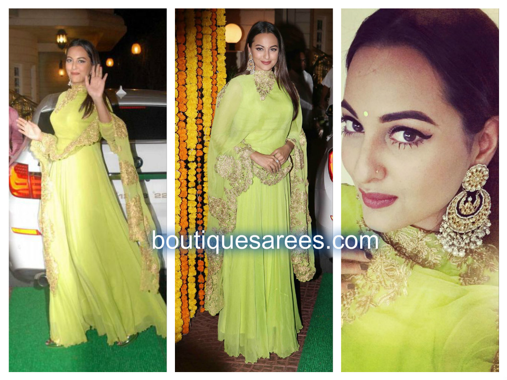 sonakshi-in-green-salwar