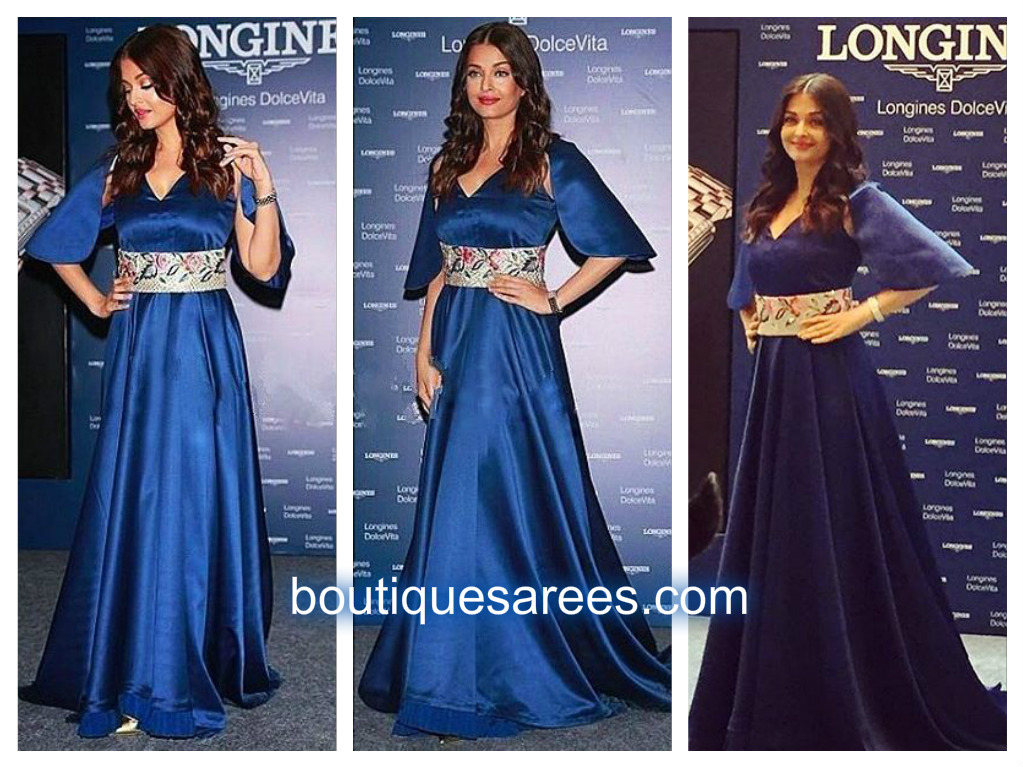 aish-in-blue-long-dress