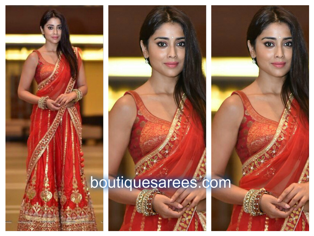 shriya-in-half-saree