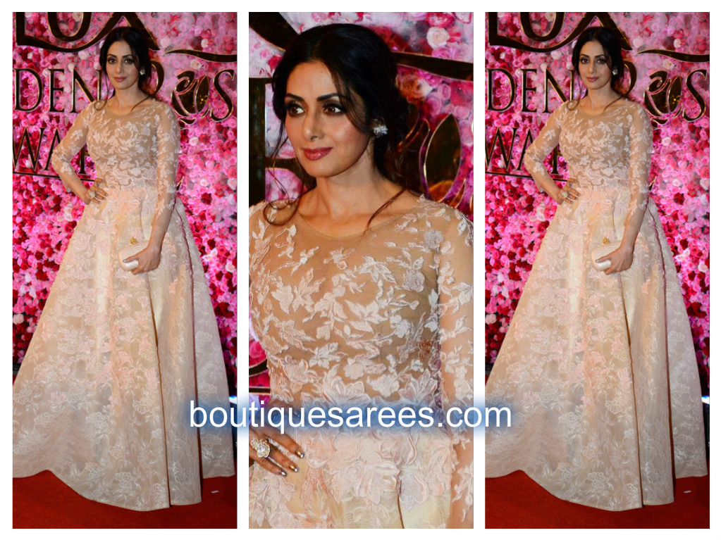 sridevi-in-long-gown