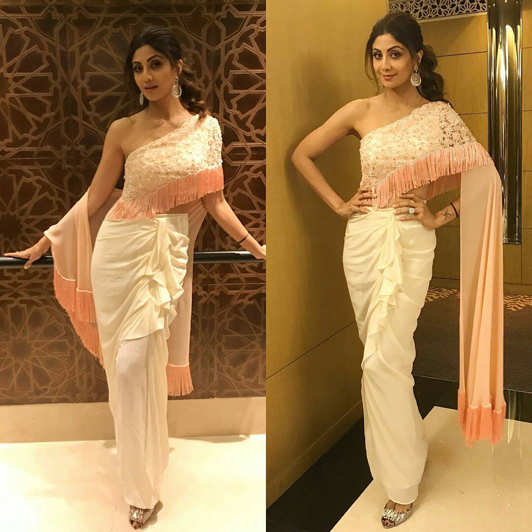 Shilpa Shetty in Rebecca Dewan – Boutiquesarees.com
