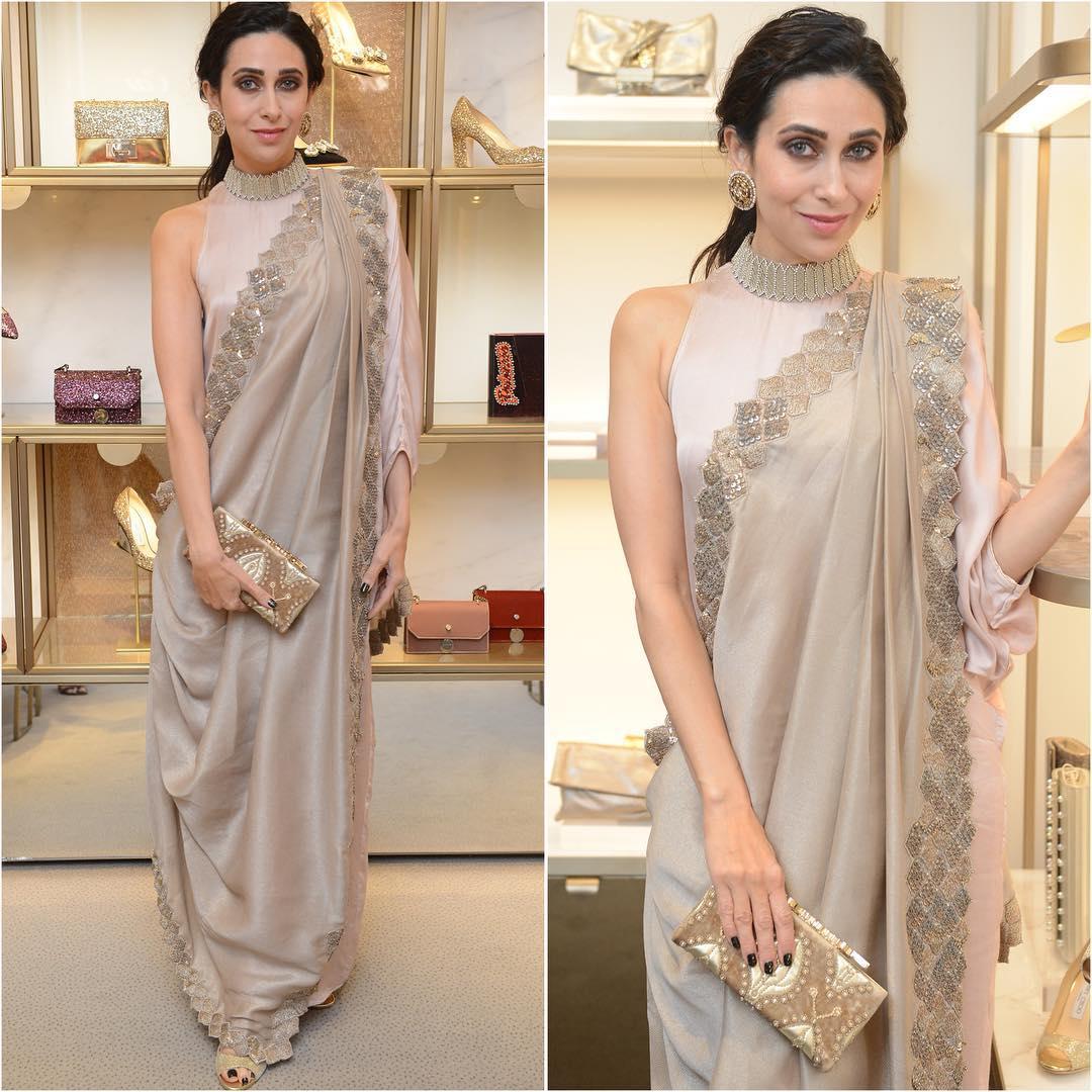 Karishma Kapoor In Kiran Uttam Ghosh Boutiquesarees Com