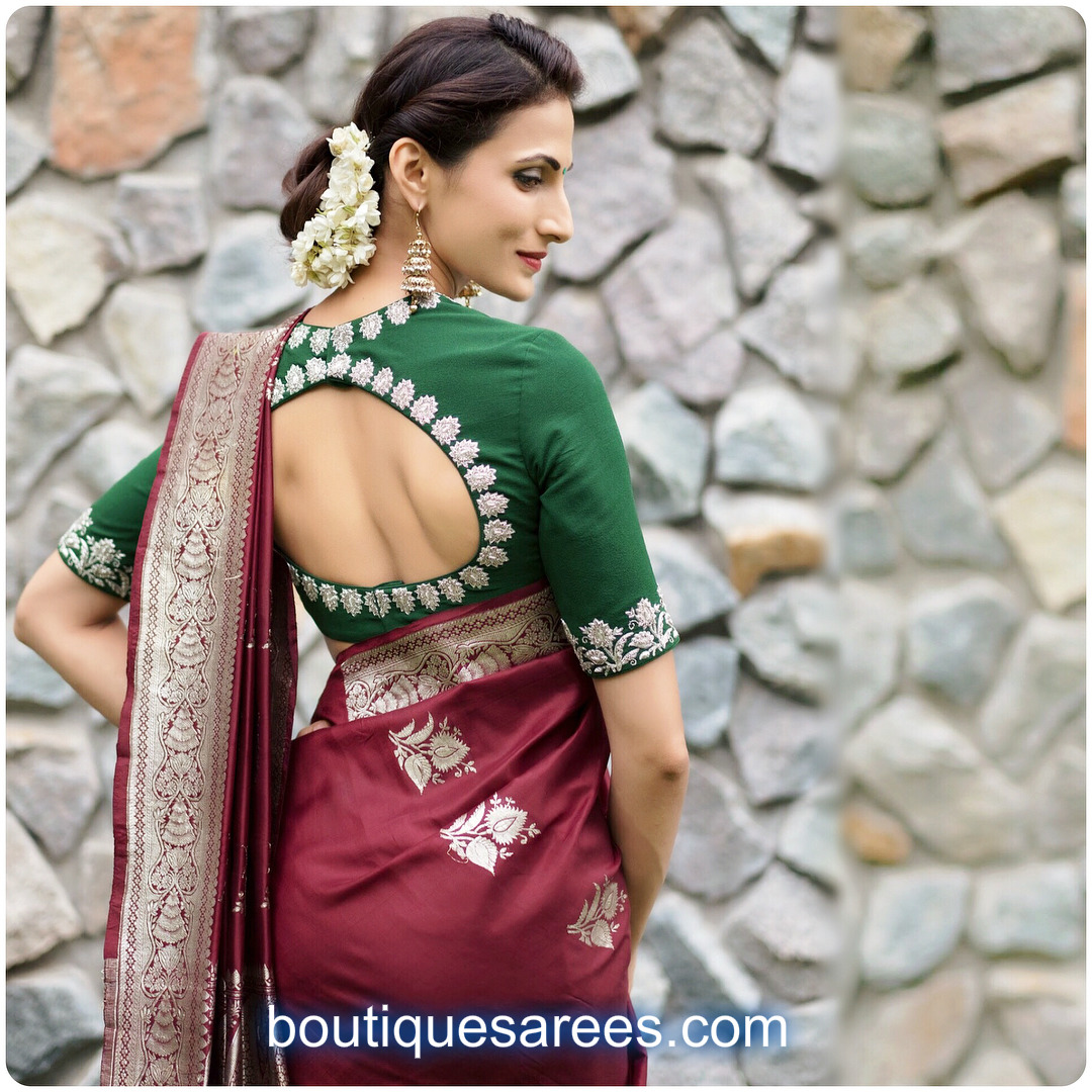 4deb97f9c6b1bf Shilpa Reddy looking ethereal in this handwoven traditional Banarasi Silk  Saree