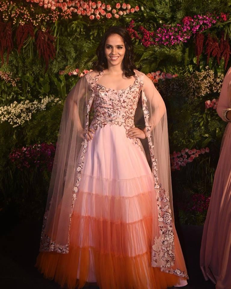 Saina Nehwal in Neeta Lulla – Boutiquesarees.com