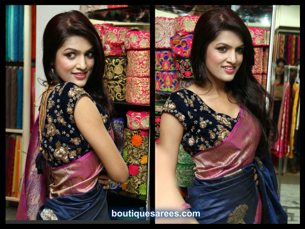 All Over Embroidery Work Blouse Boutiquesarees Com